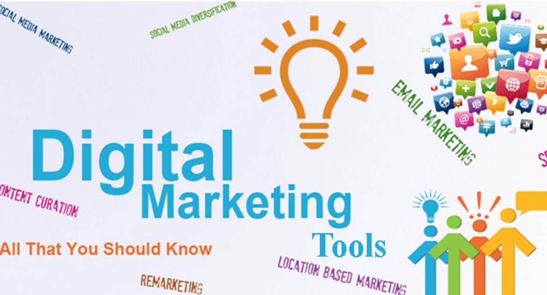 List of 20 free Digital Marketing Tools